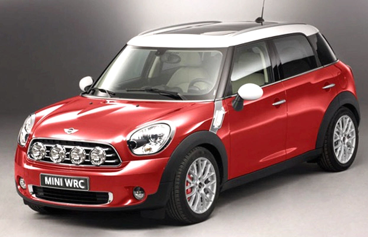 mini countryman in pole position nel wrc 2011. Black Bedroom Furniture Sets. Home Design Ideas