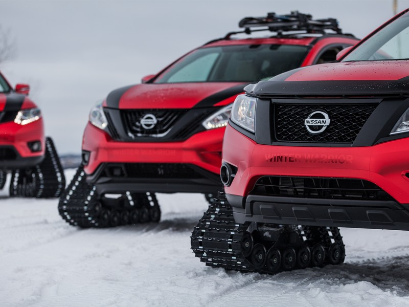 "Nissan ""Winter Warriors"" (Chicago 2016)"