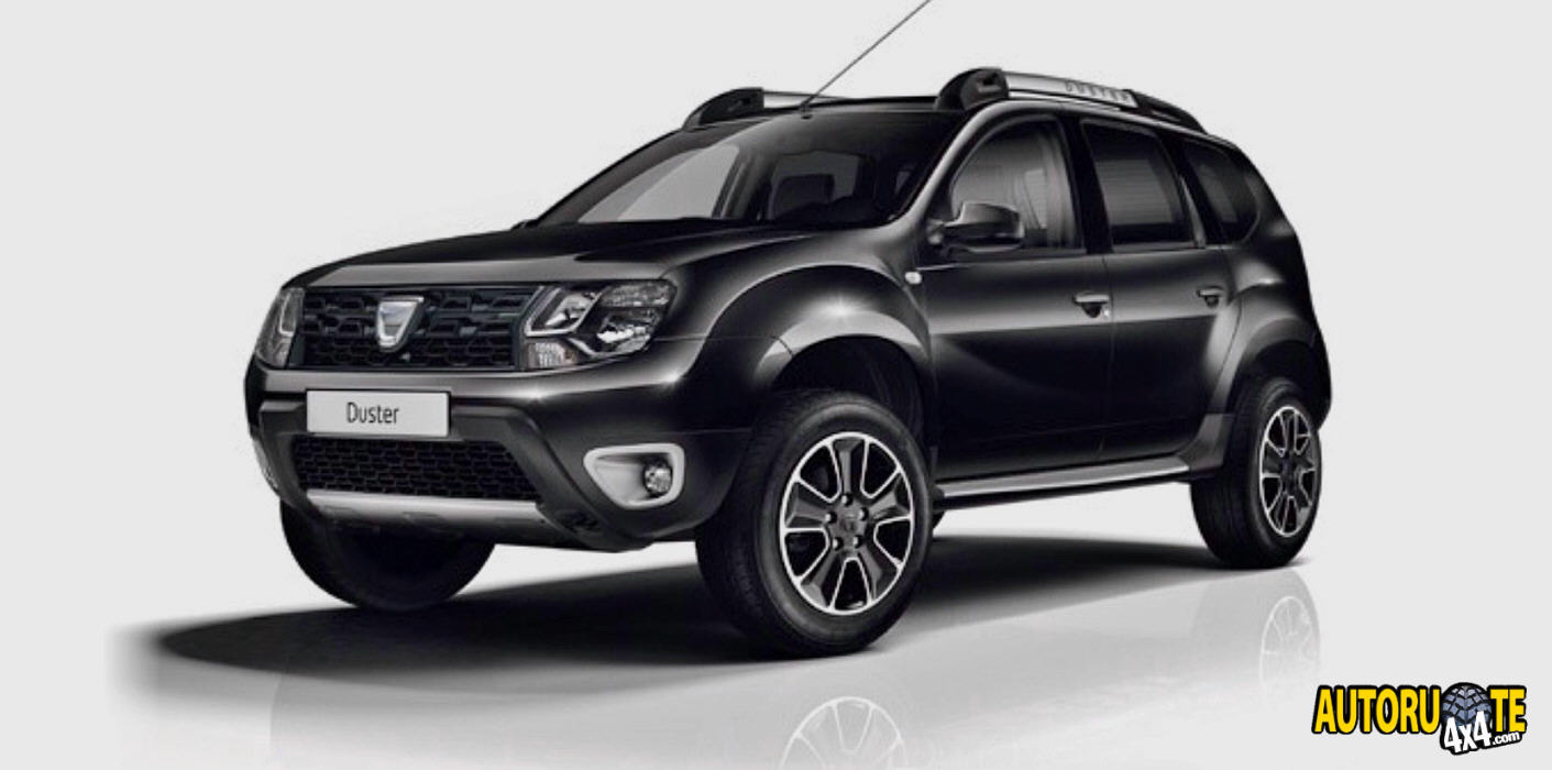 autoruote 4x4 web magazine sulla mobilit 4x4 e sull 39 offroad dacia duster black shadow 2017. Black Bedroom Furniture Sets. Home Design Ideas