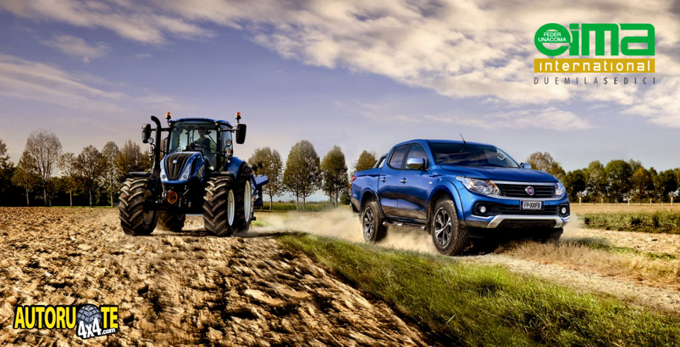 Fiat e New Holland Agriculture insieme all'EIMA 2016