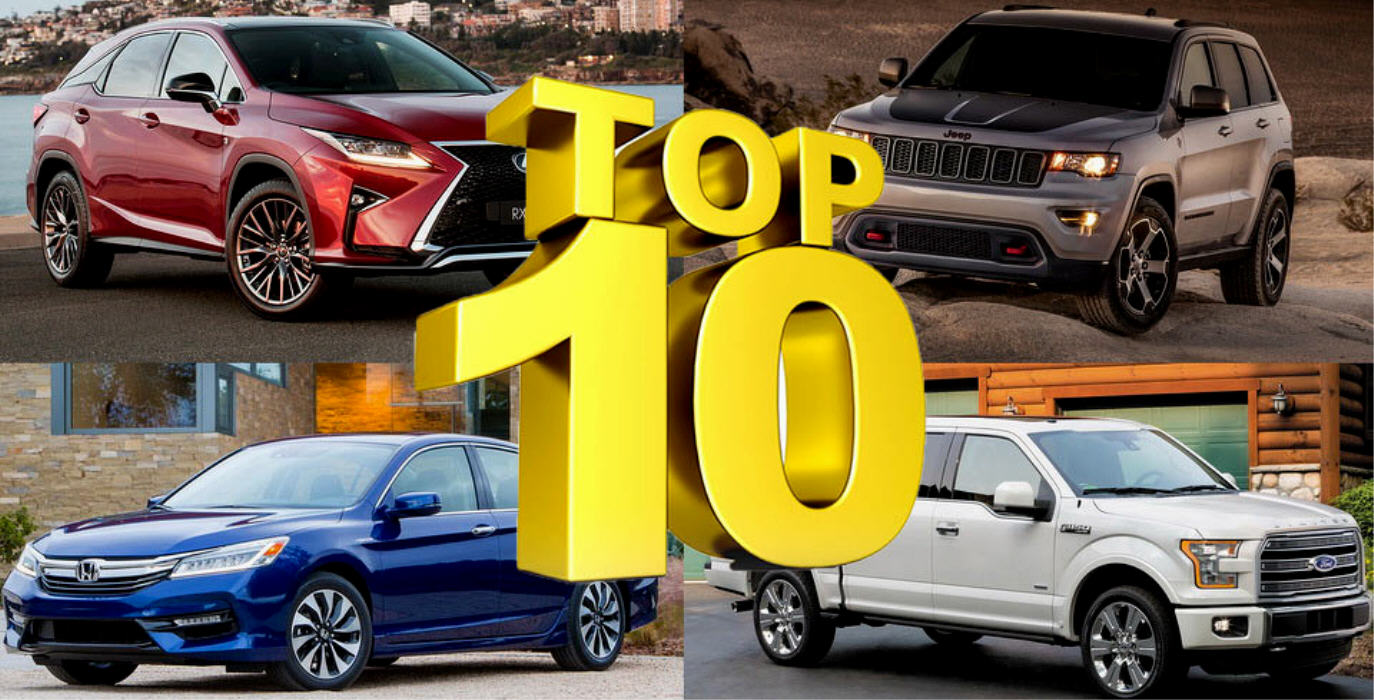 Top 10 USA: 8 SUV e 1 pick-up tra i primi dieci