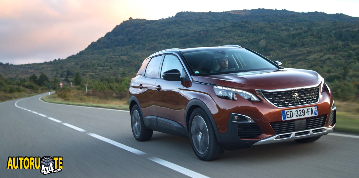 Peugeot 3008: SUV Business 2017
