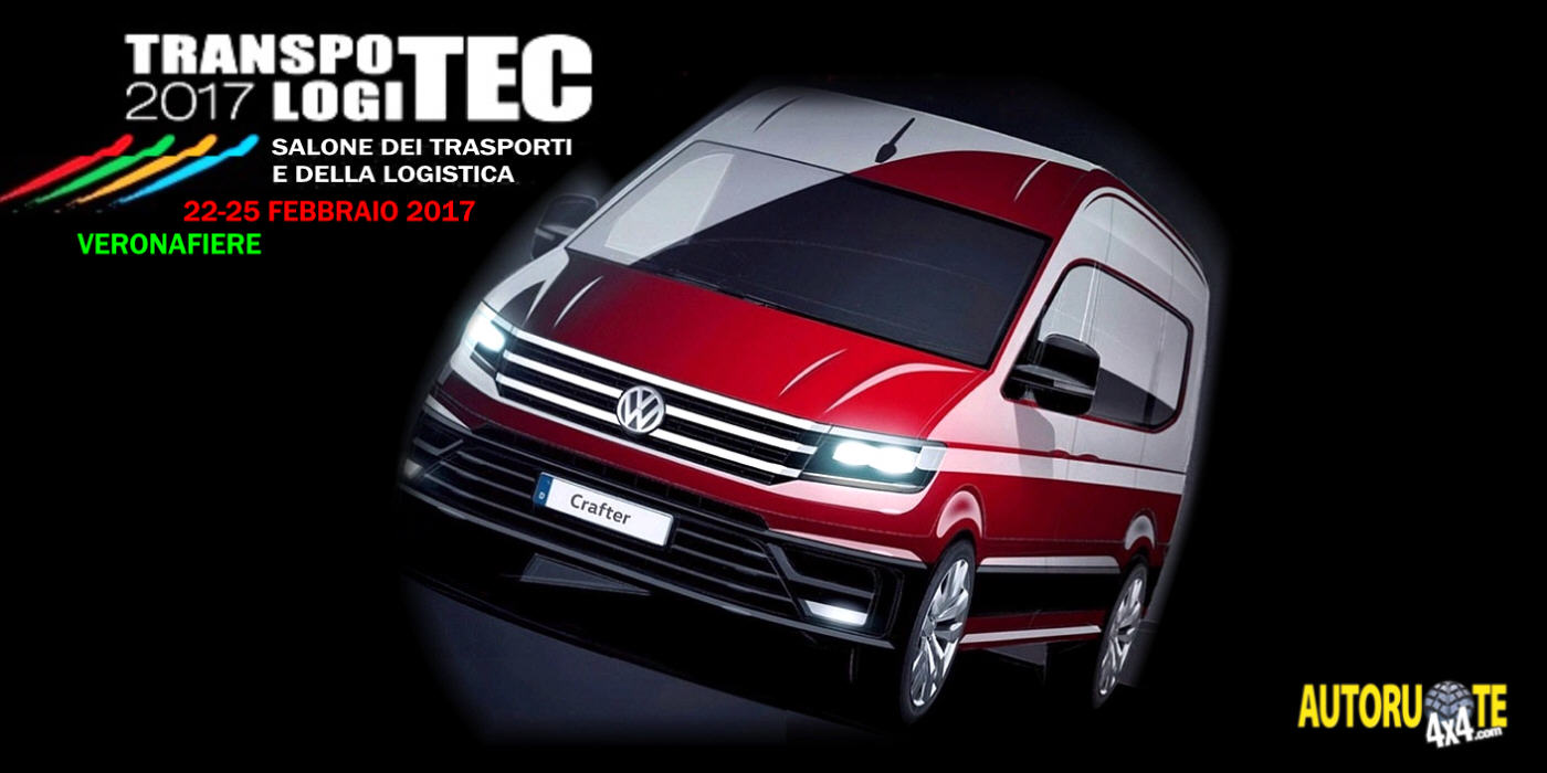 Nuovo VW Crafter: Debutto in Italia (Transpotec 2017)