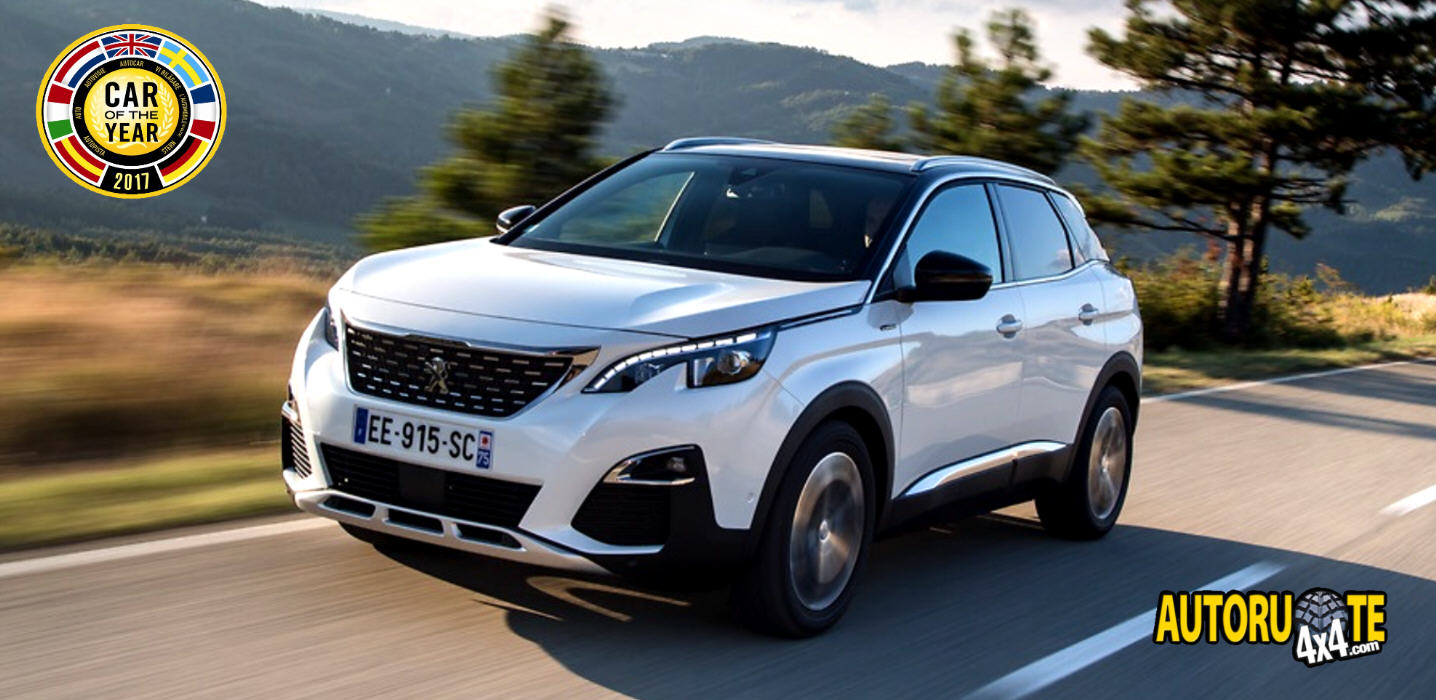 "Peugeot 3008 è ""Car of the Year 2017"""
