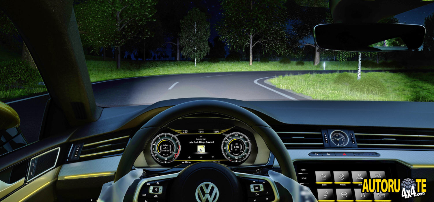 Volkswagen Arteon: Active Lighting System (4)