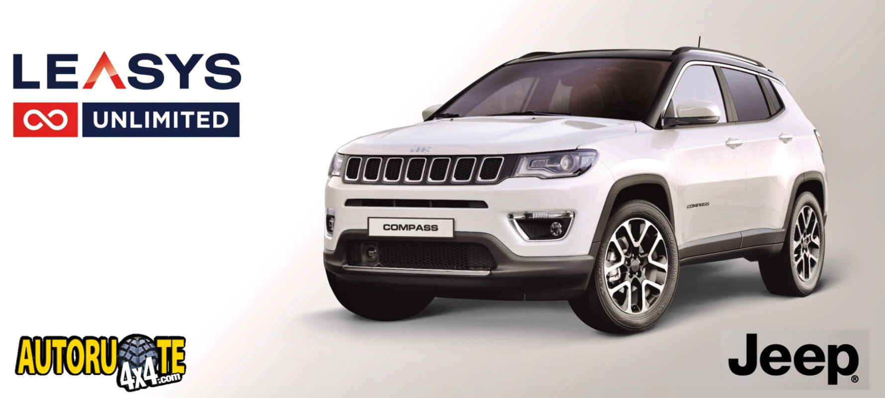 Jeep Compass 2.0 Limited 4WD by Leasys Unlimited