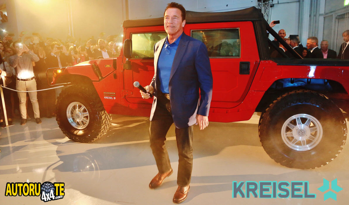 Hummer H1 EV by Kreisel Electric