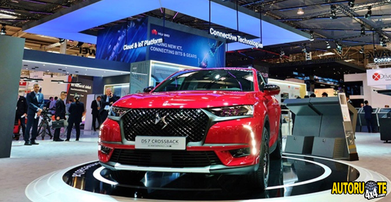 DS 7 Crossback & Huawei: connessione al top