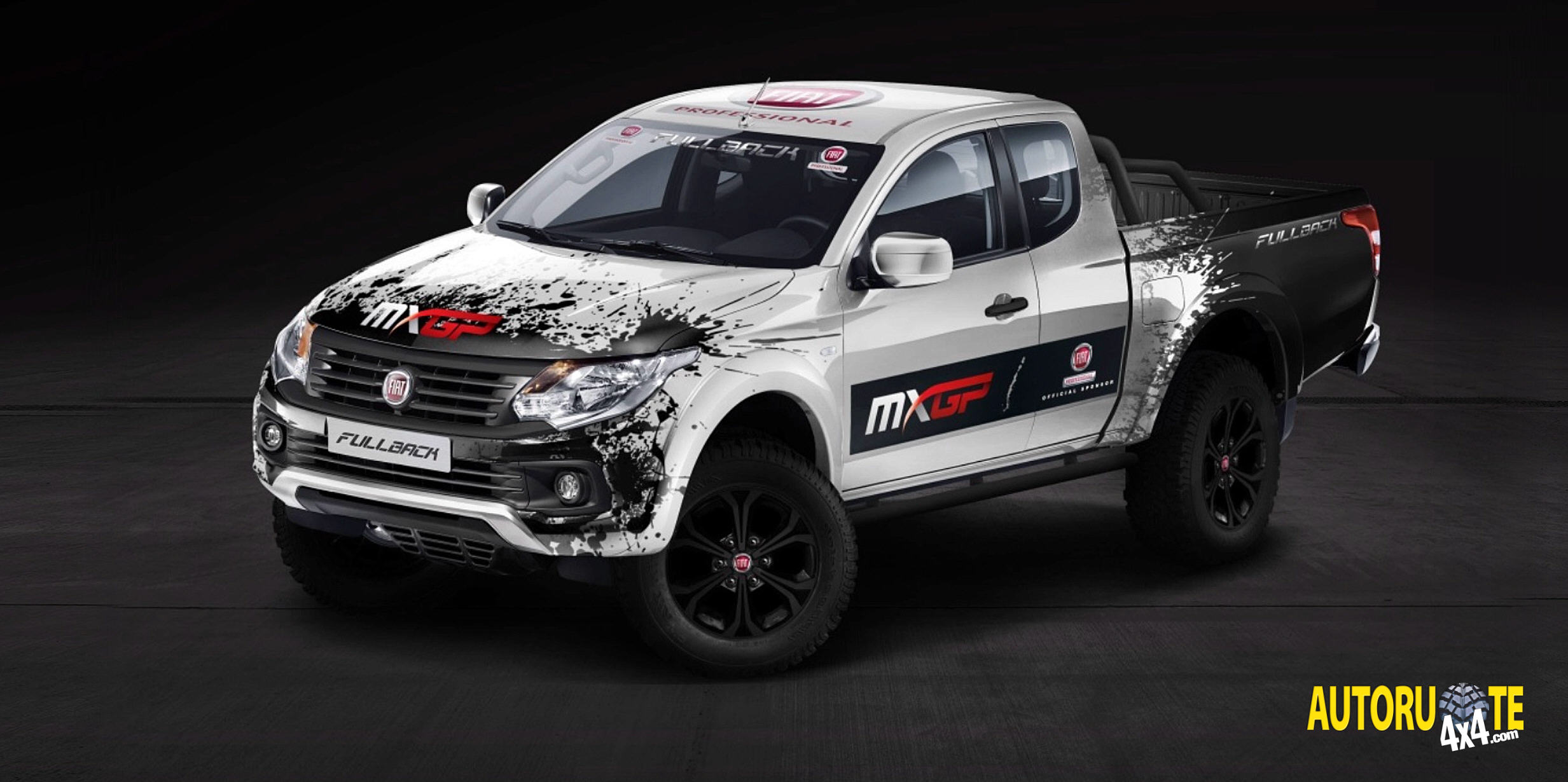 fiat fullback debutto alla 1 tappa europea del mxgp 2016. Black Bedroom Furniture Sets. Home Design Ideas