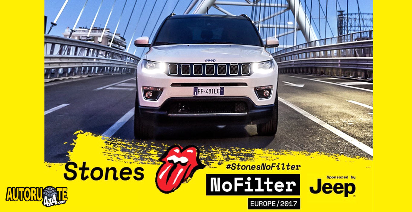 "Jeep Official Sponsor del ""Rolling Stones-No filter 2017"""