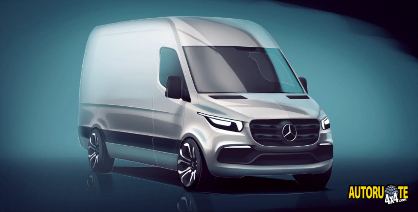 Nuovo Mercedes Sprinter Model Year 2018