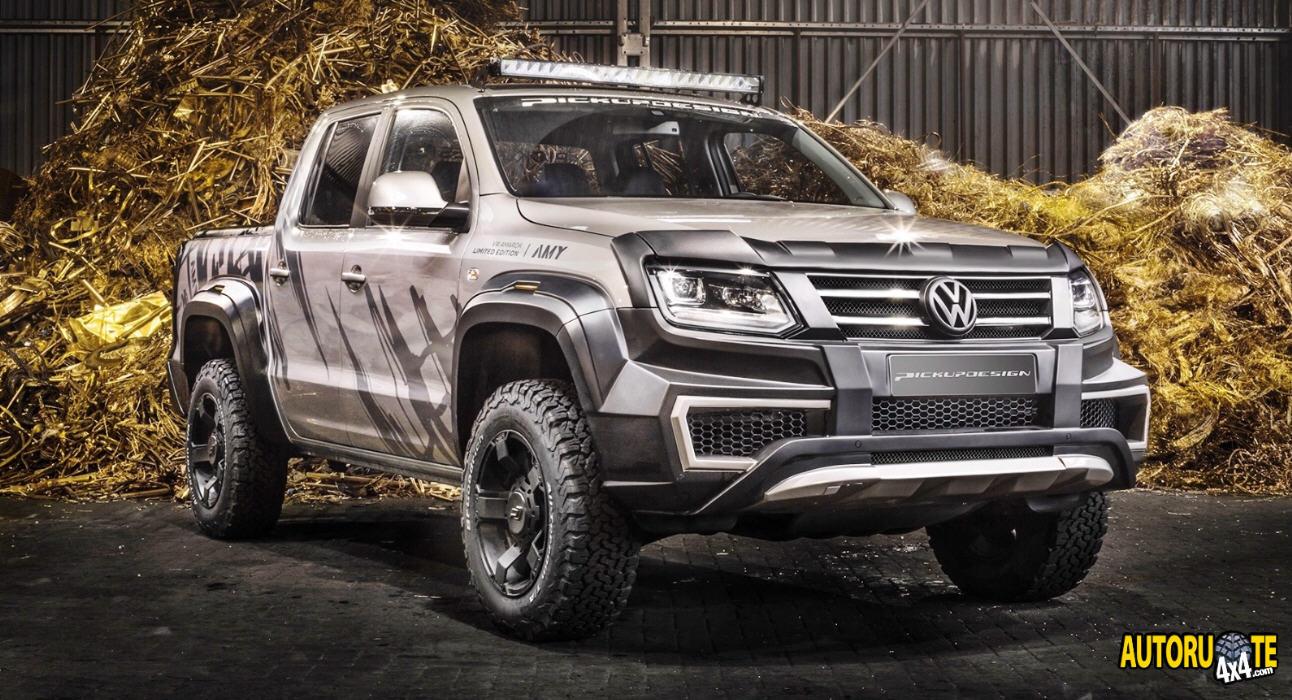 Volkswagen Amarok 2019 by Pickup Design
