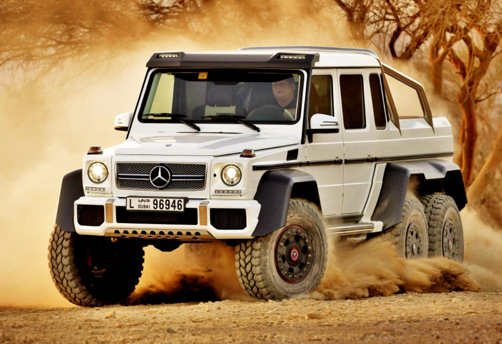 Mercedes G Class: Luxury Off-Road Vehicle 2014