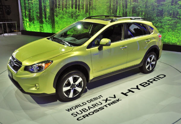 SUBARU XV Crosstrek Hybrid 2013