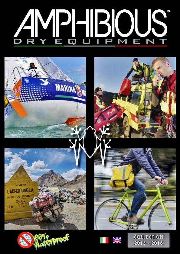 AMPHIBIOUS Dry Equipment: 100% waterproof