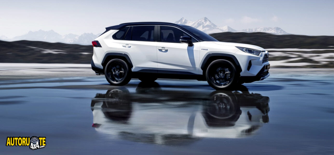 Anteprima europea del nuovo RAV4 Hybrid (Parigi 2018)