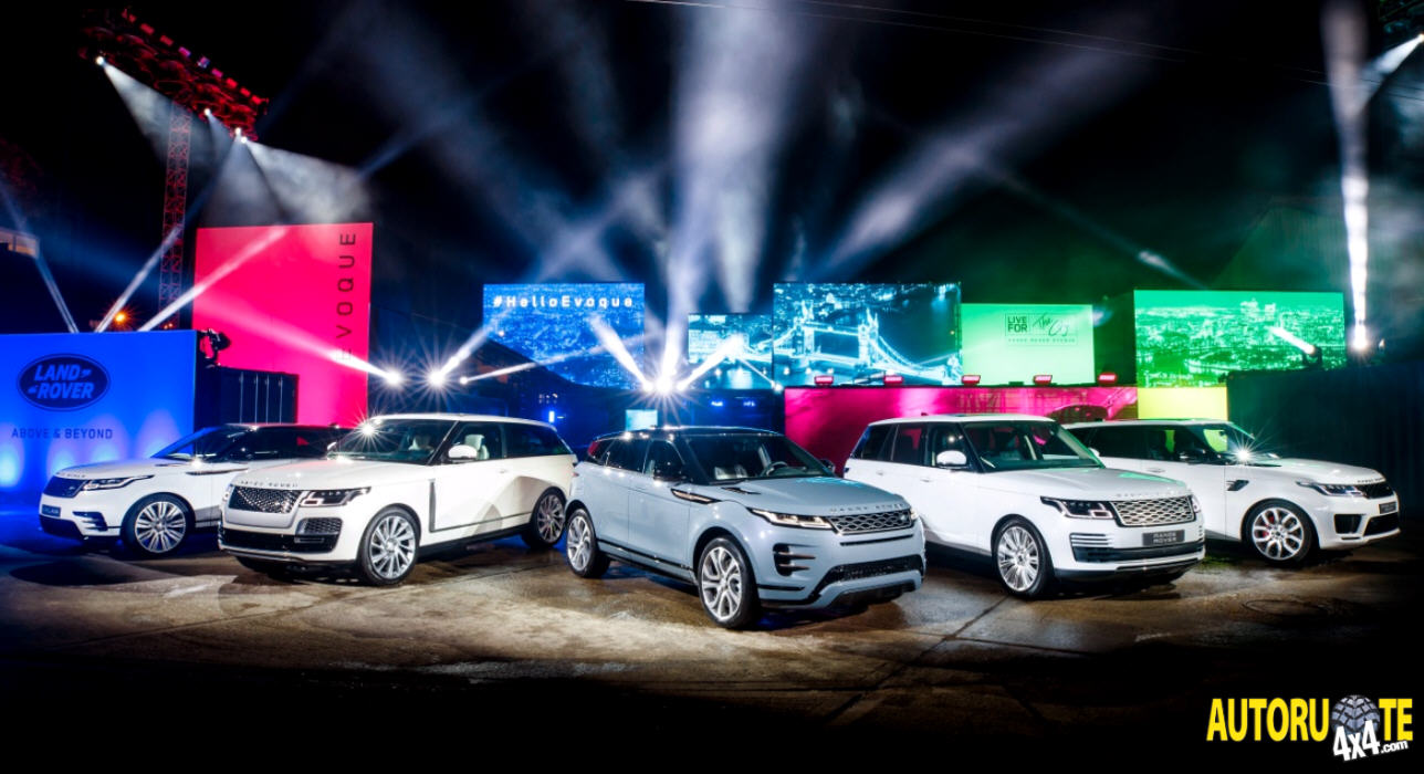 Nuova Range Rover Evoque MY 2019