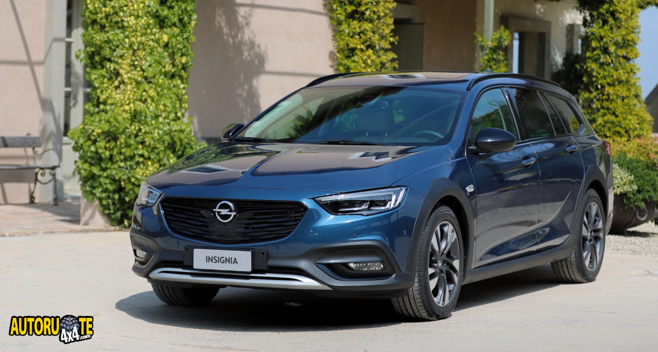 "Opel Insignia è ""All-Wheel Drive Car Of The Year 2019"""
