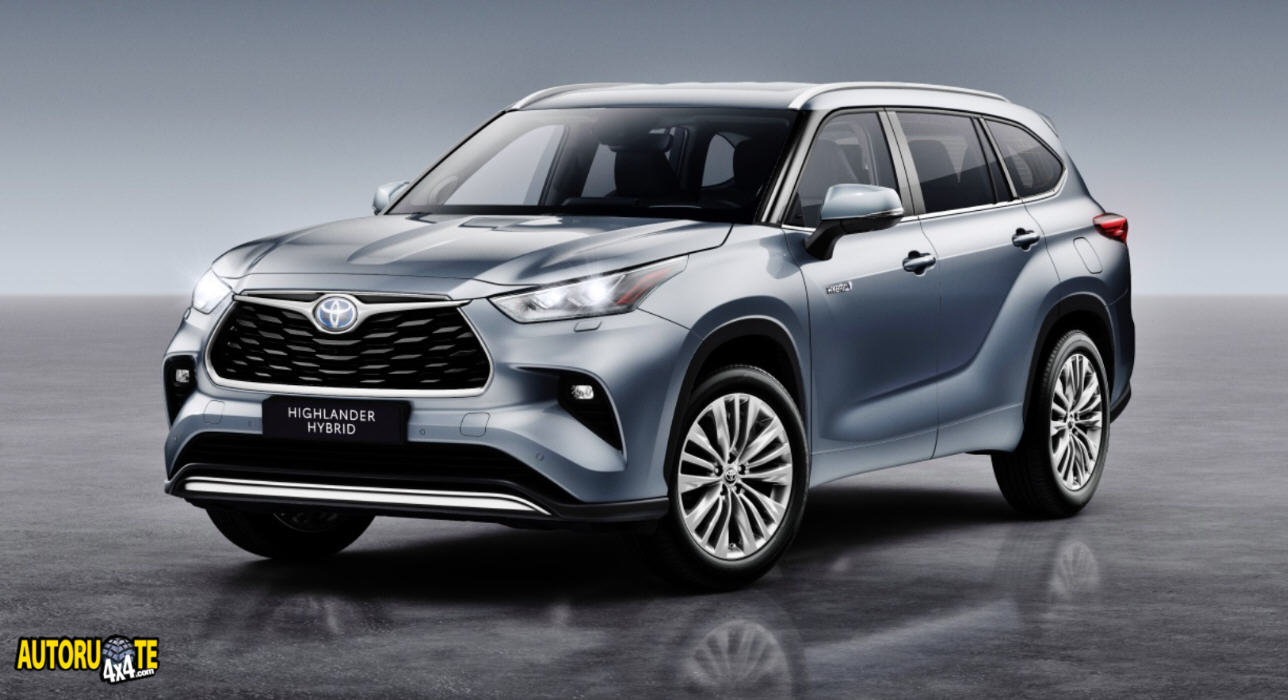Toyota Highlander Model Year 2021