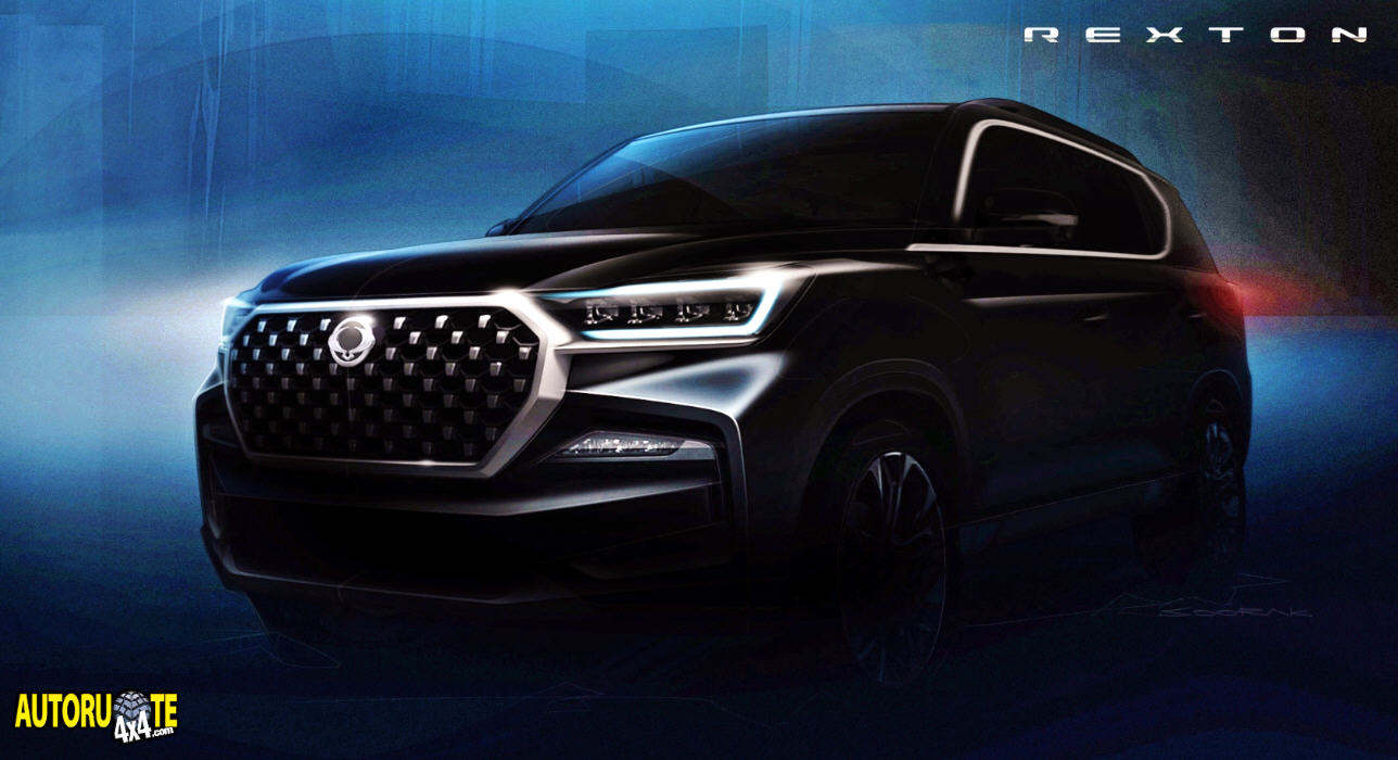Nuovo SsangYong Rexton Model Year 2021