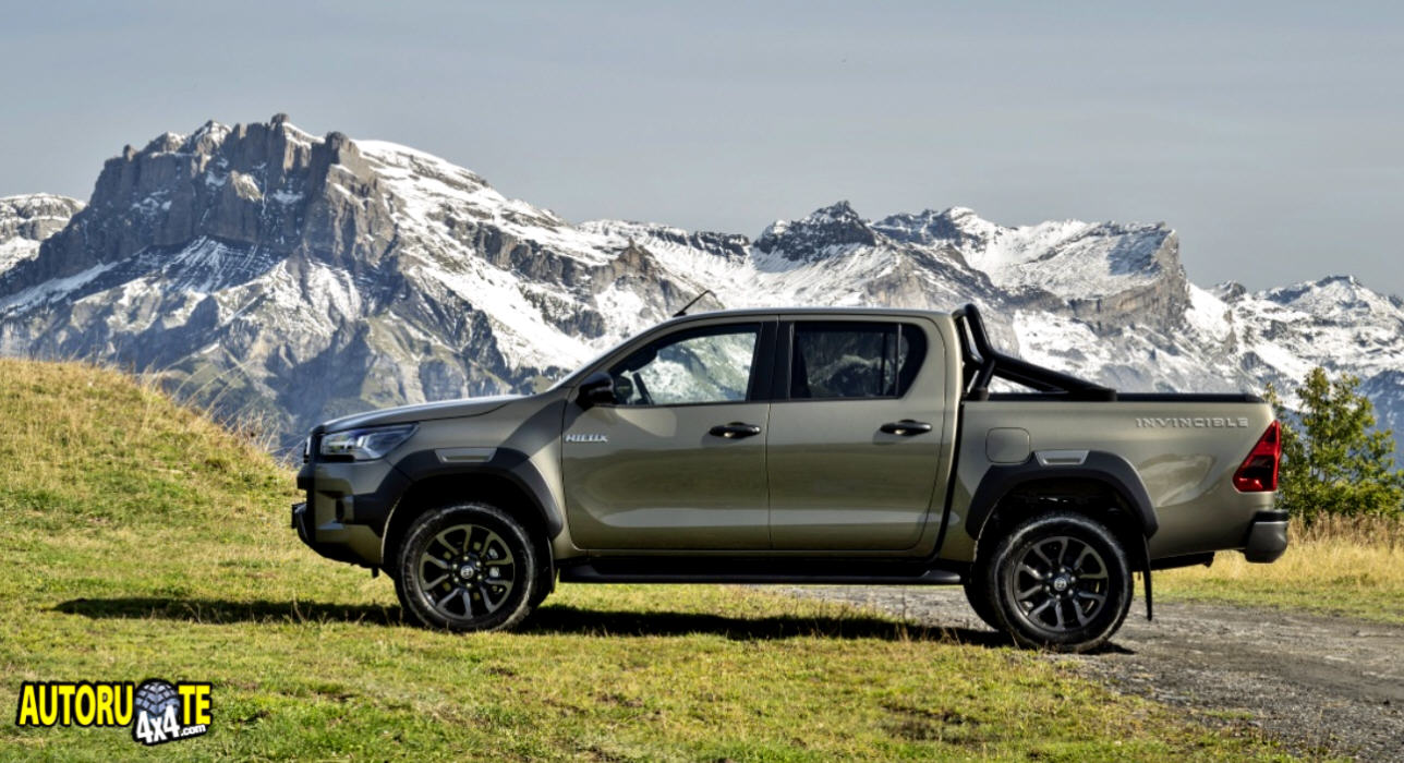 Nuovo Toyota Hilux Model Year 2021