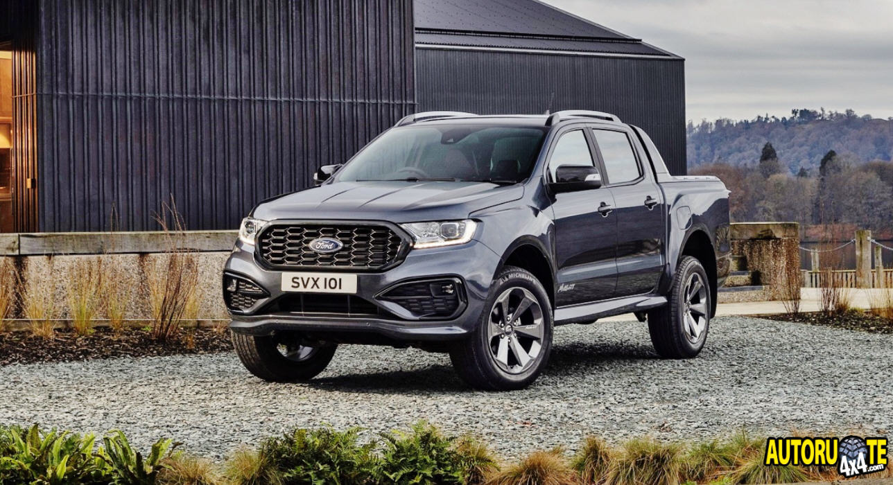 Nuovo Ford Ranger MS-RT (2021)