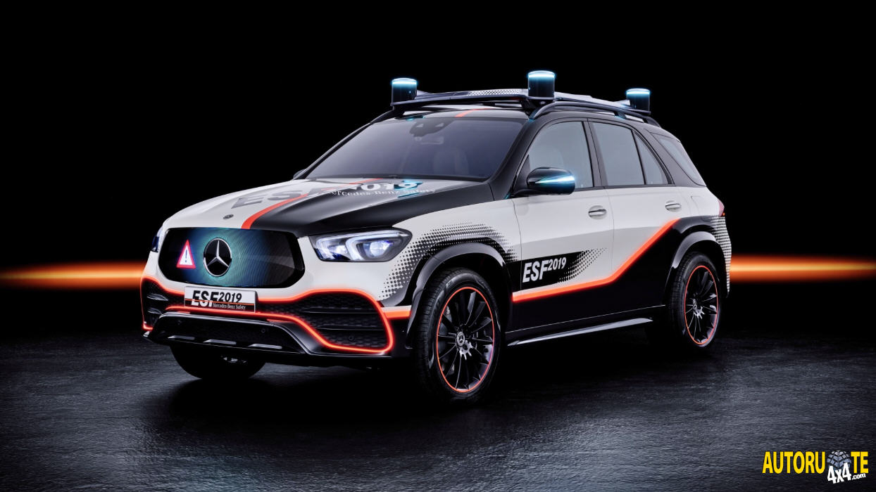 Mercedes-Benz Experimental Safety Vehicle (ESF) 2019