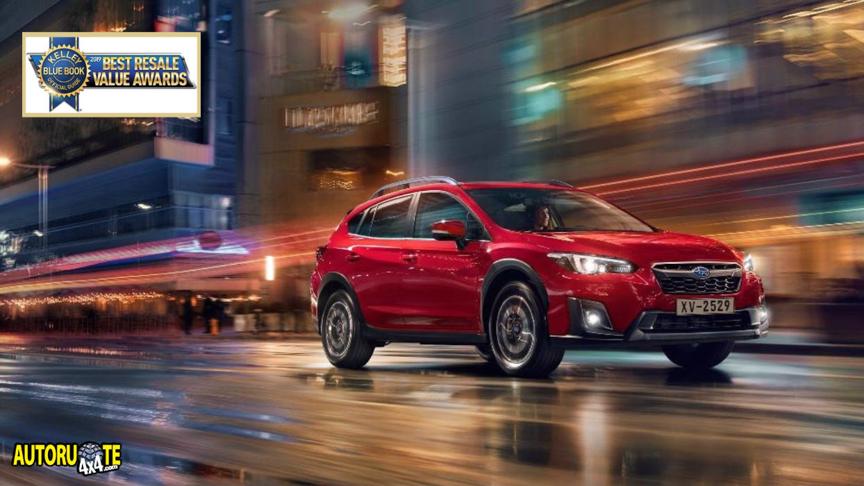Subaru premiata ai Best Resale Value Awards 2019