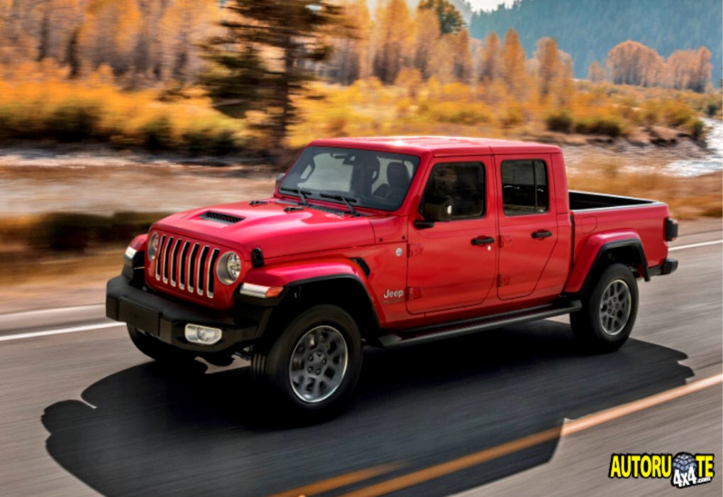 Nuova Jeep Gladiator: 100% pick-up 4x4