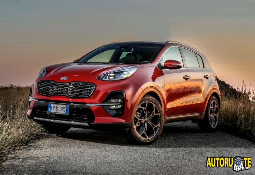 KIA Sportage Model Year 2018