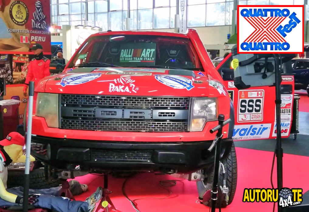 RalliArt Team alla DAKAR 2019