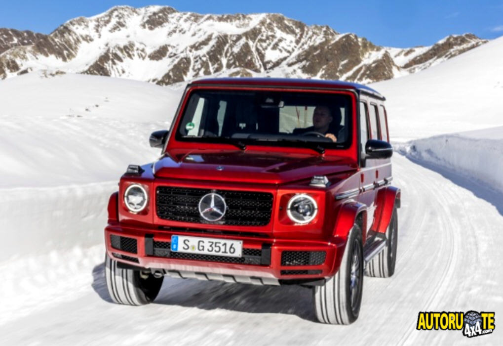 Nuova Mercedes-Benz G 350 d