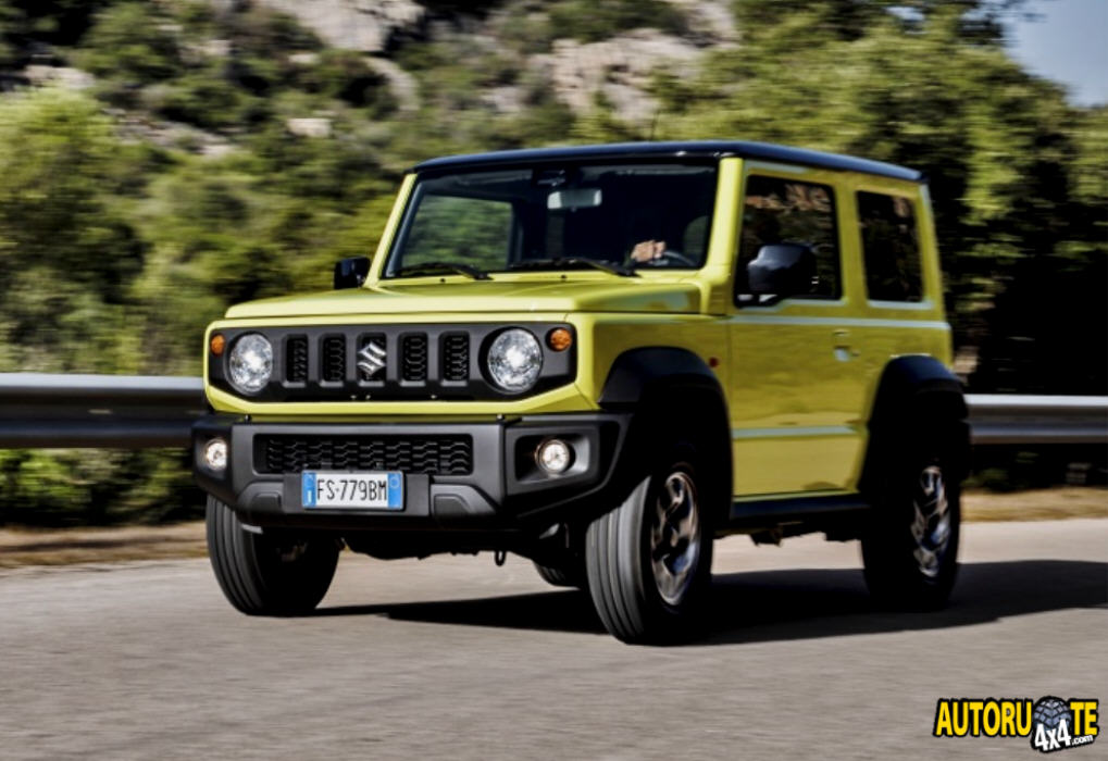 Suzuki JIMNY vince il World Urban Car 2019
