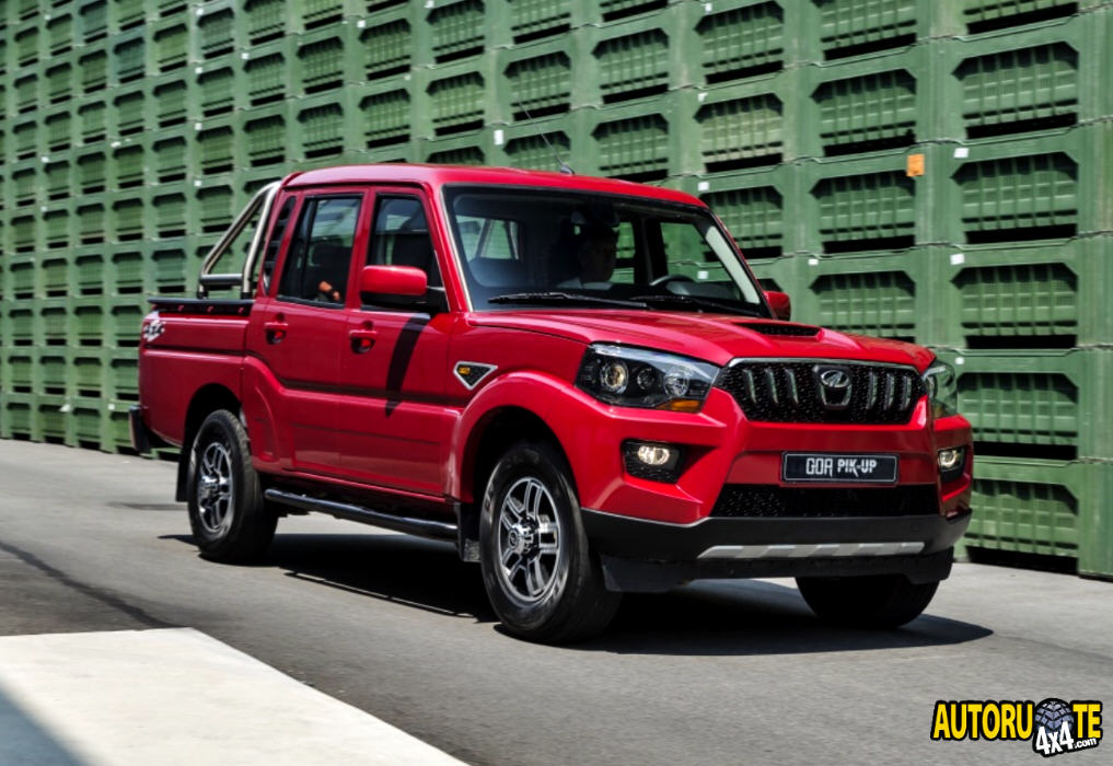 Mahindra Goa Pick-Up Plus 4x4