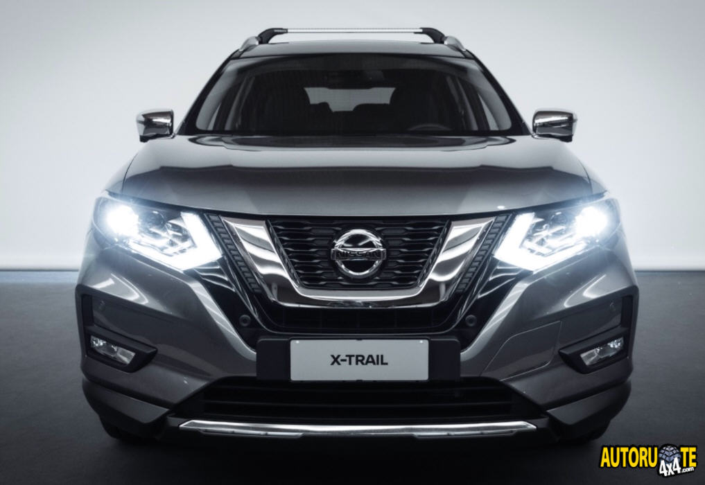 Nissan X-Trail 4WD disponibile con kit Salomon