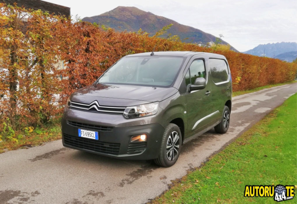 Test Drive 4x2: Citroen Berlingo Van M-Driver BlueHDI 100 S&S
